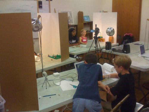 Stopmotion Camp 2009 by Wesley Fryer, on Flickr