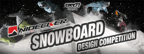 Nidecker Snowboard Dessing Competition