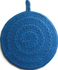 1. Anne's potholder done-back