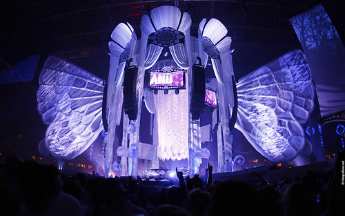 Sensation White 2009 Wallpaper: Dark Purple