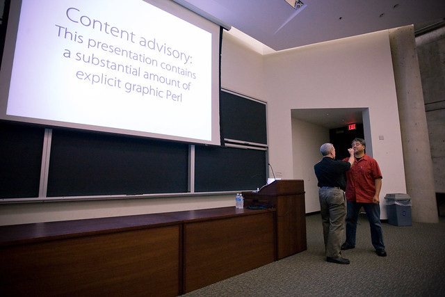 Damien Conway at UofT