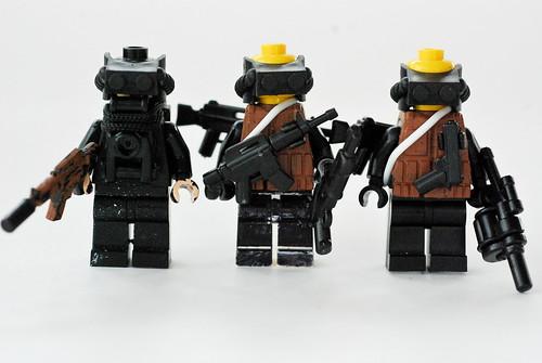 Spire Corporations custom minifigs