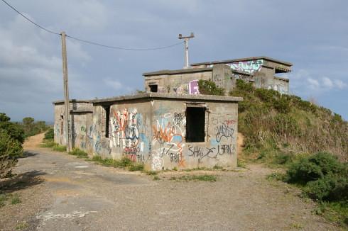 Gun bunkers Palmer Head