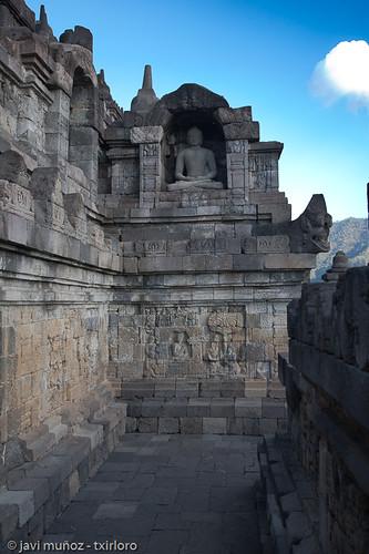 Borobudur, detalle