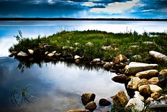Shore (Artturi.) Tags: sky water finland nikon shore lapland d60 gettyimagesfinlandq1