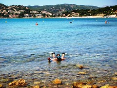 Mediterranean Beach in France Provence #2