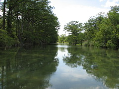 The Blanco River near Wimberley.