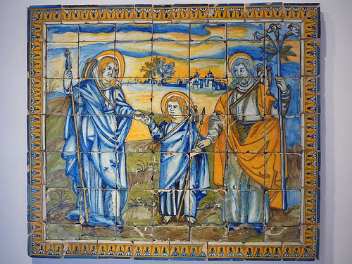 La Anunciación de Jesús a los Estrábicos (vedlo en grande y lo entenderéis…)