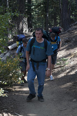 Matt hiking (Emerald Bay, California, United States) Photo