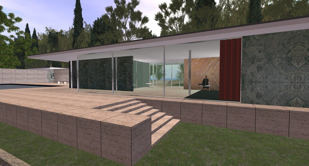 Virtual Barcelona Pavilion