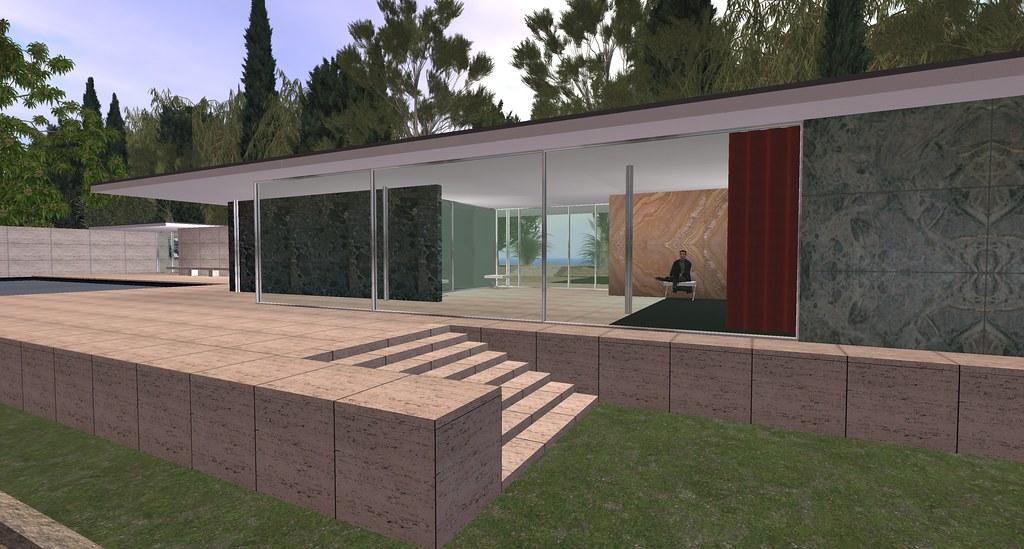 Virtual Barcelona Pavilion