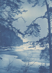 Trollhättan Falls, Sweden (Swedish National Heritage Board) Tags: cyanotype riksantikvarieämbetet theswedishnationalheritageboard commons:event=commonground2009