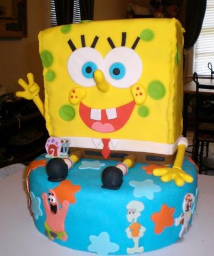 i can make stuff i can make spongebob out of cake