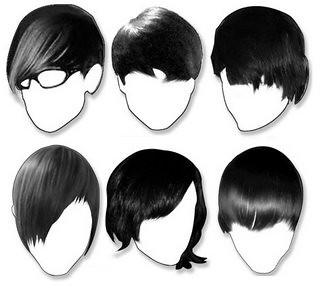 cabelos emo masculino