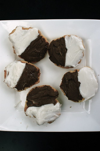 gluten-free black and white cookies