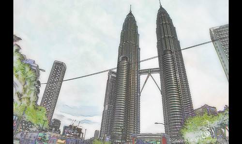 Petronas Twin Towers (KLCC) by namida -
