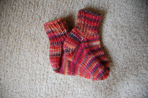 FO: Bella's socks