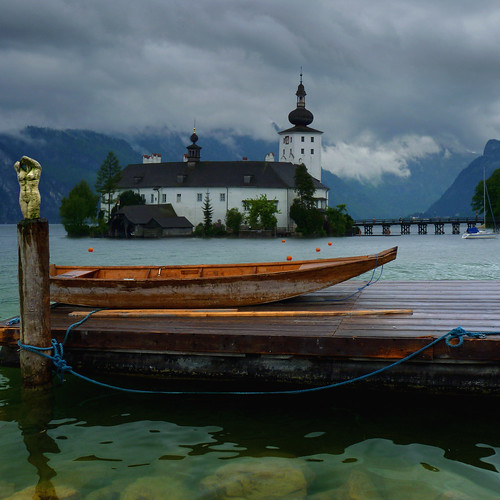 No rowing today at the Traunsee by B℮n