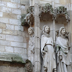 (Insula dulcamara) Tags: sculpture ange cathdrale rouen moyenage dmon