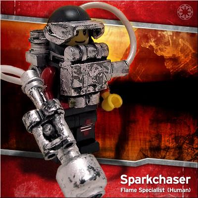 Lego Sparkchaser custom  minifig