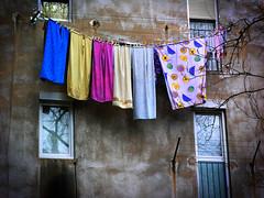 Barecelona Wash Day (ringydingydo) Tags: barcelona towels