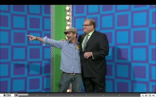 Our Music Director on Price is Right!