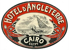 Luggage Labels - Cairo