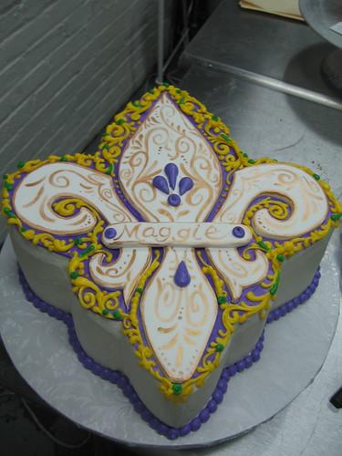 NOLA Birthday Cake