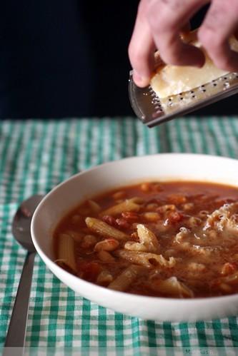 sopa de macarrones