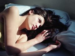 (Ana Cuba) Tags: morning light shadow portrait bed natural bedtime mara v700 mamiyam645 bububob