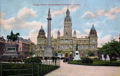 City Chambers & George Square, Glasgow (Brownie Bear) Tags: city uk square scotland george britain glasgow postcard united great kingdom gb category chambers listed listedbuilding a listedbuildingsofscotland hbnumber32691