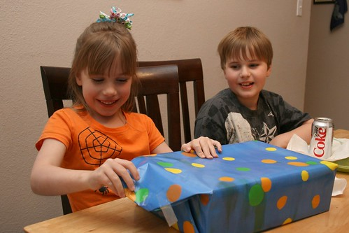 Cassie Opening Gift