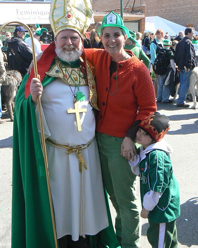 Audience with St Patrick