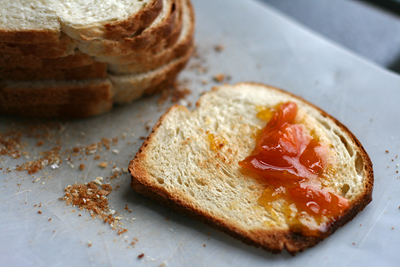 Buttermilk Toast w/ Kumquat Preserves