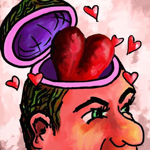 heart as brain in head