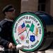 Union County Police & Fire Pipe and Drums Bass Drummer