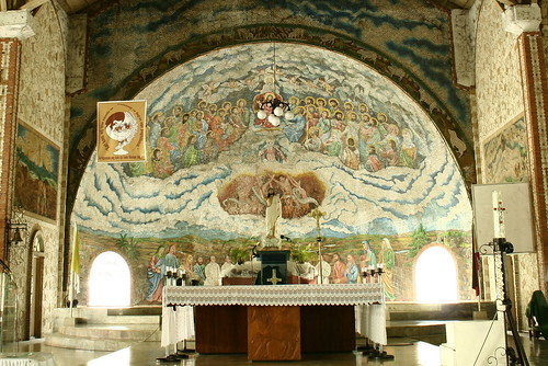 Tigbauan Church altar