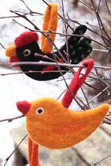 IMG_5895 (piaktw) Tags: decorations felted easter handmade