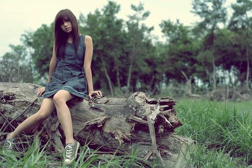 [フリー画像] 人物, 女性, ドレス, 201005031100