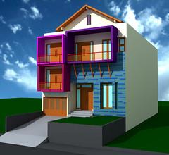 Desain Rumah Minimalis Pantai Indah Kapuk by Indograha Arsitama Desain & Build