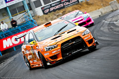 Kumakubosan in his Evo X