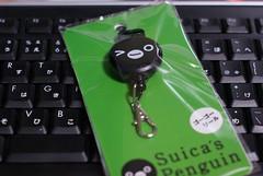 Suica Penguin go go reel