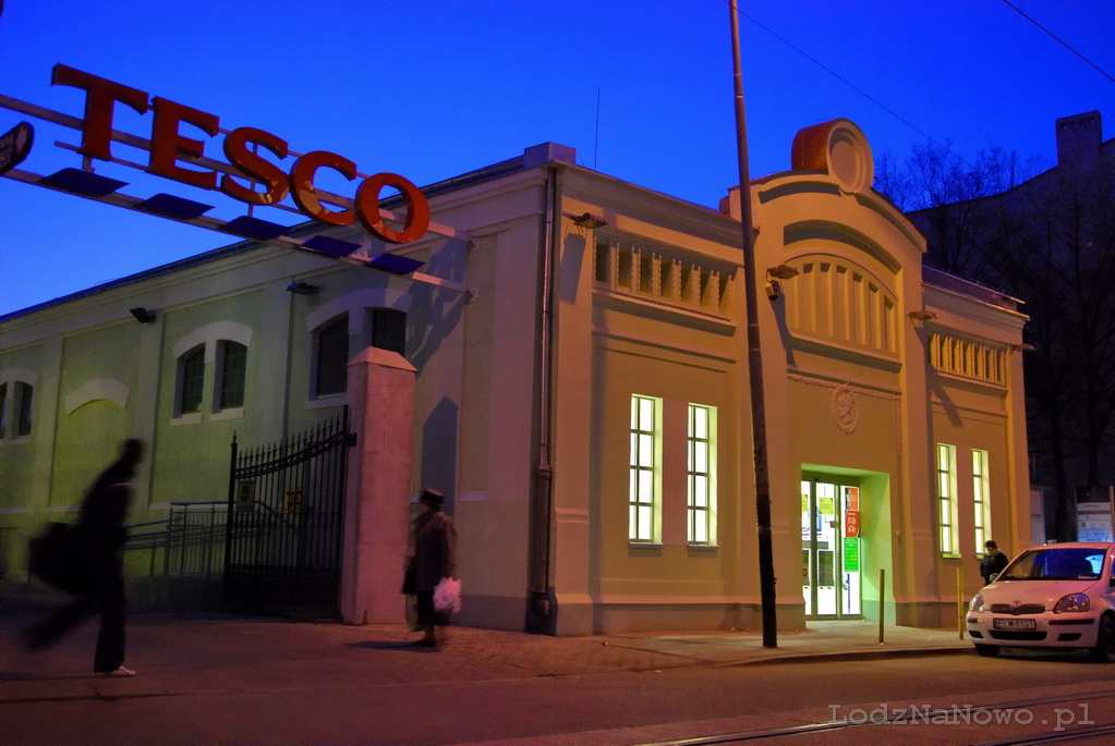 old fashioned Tesco