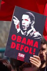 Anti-Obama Protest: Taksim Square