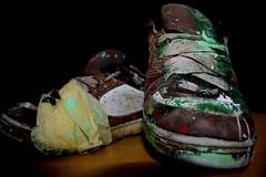 my old shoes (ub-crew UGLY BASTARDS) Tags: sexy green ass girl sex nude graffiti shoes erotic akt pussy porno porn drips blaze xxx es grn makro farbe schuhe blowjob spritzer skateshoe isny