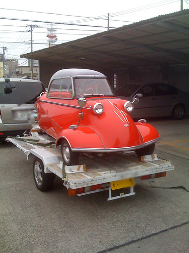 Messerschmitt in Tsuchiura Japan [Apr. 04. 2009]