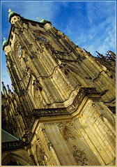 Cathedral in Prague (Ivan Leshko) Tags: camera city sky test building colors stars nice perfect europe shadows view prague perspective royal award best oskar scream excellent capture nicon      anawesomeshot   natureselegantshots  flikraward flikrcentral capturethefinest  ivanleshko