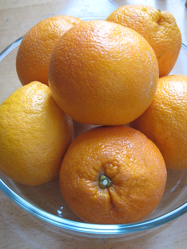 Tarocco oranges from Sicily