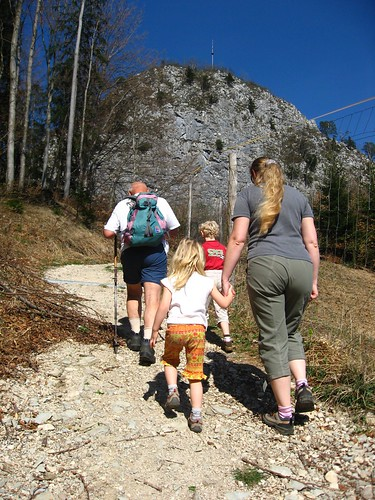 hike to small mt. Barmstein