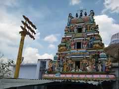 Main shrine 2 (middle tier) (by Raju's Temple Visits)